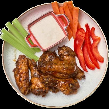 Курячі крила ВВQ Chick-in Mexico у пікантному соусі